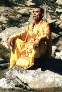 Nyoshul Khenpo Rinpoche. A great Dzogchen Master.